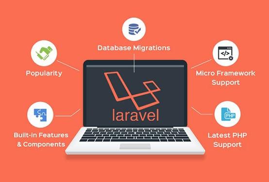 Laravel - طراحی سایت