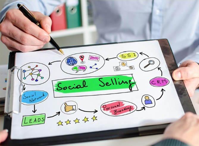 social selling system - توسعه تجارت