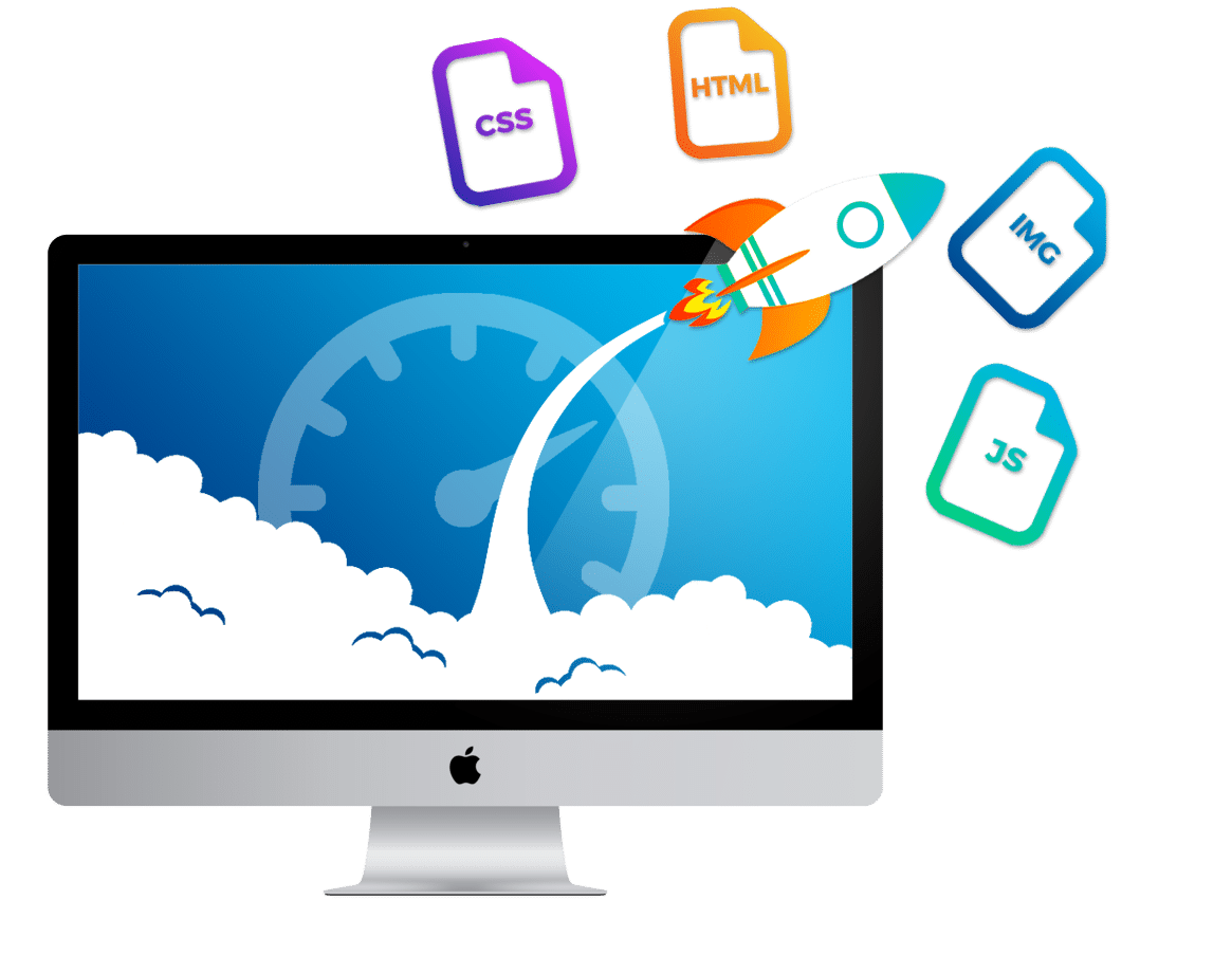 web speed optimisation - نمونه کارها