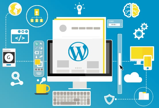 wordpress web design - طراحی سایت