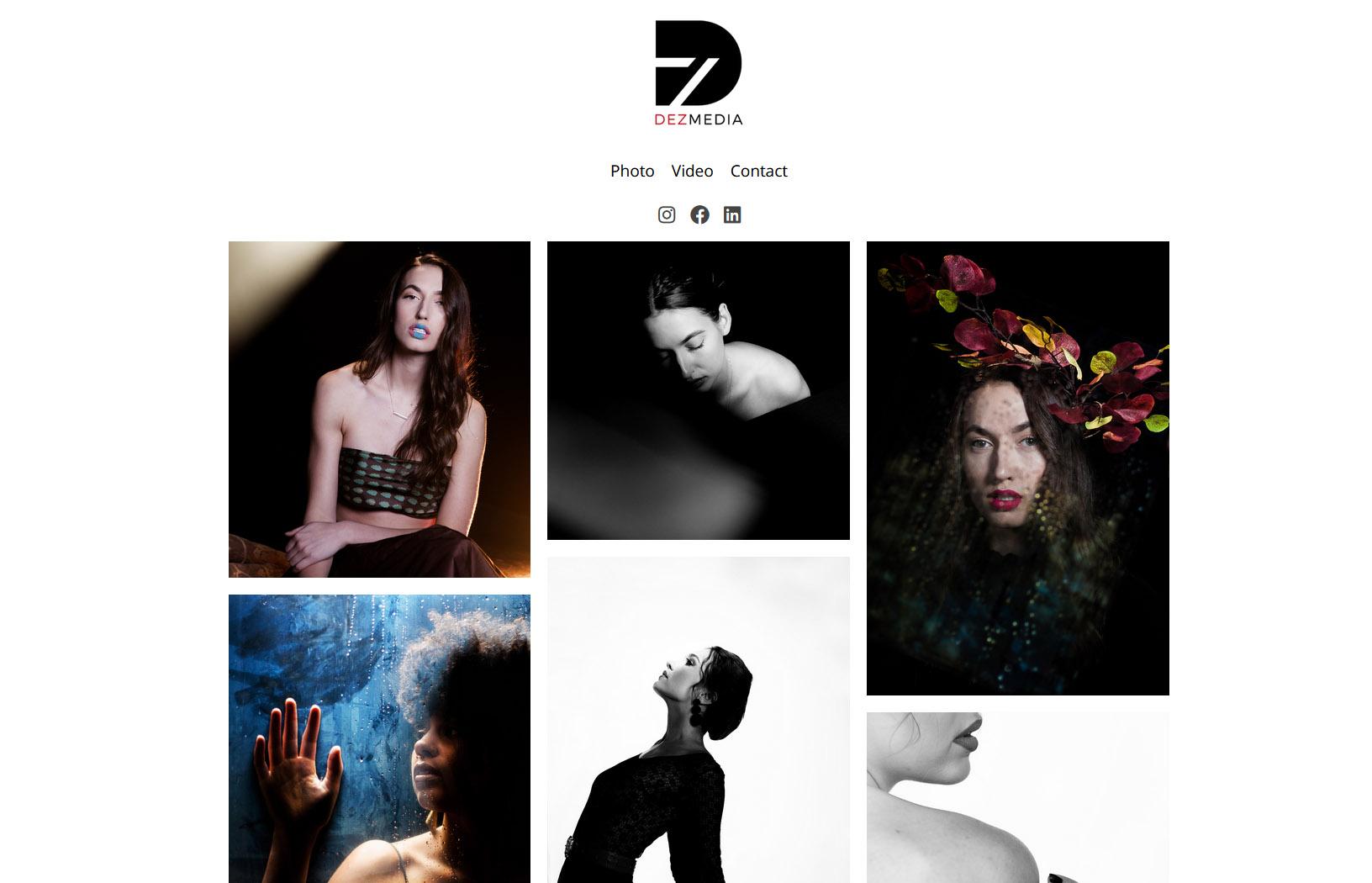 dez - طراحی سایت