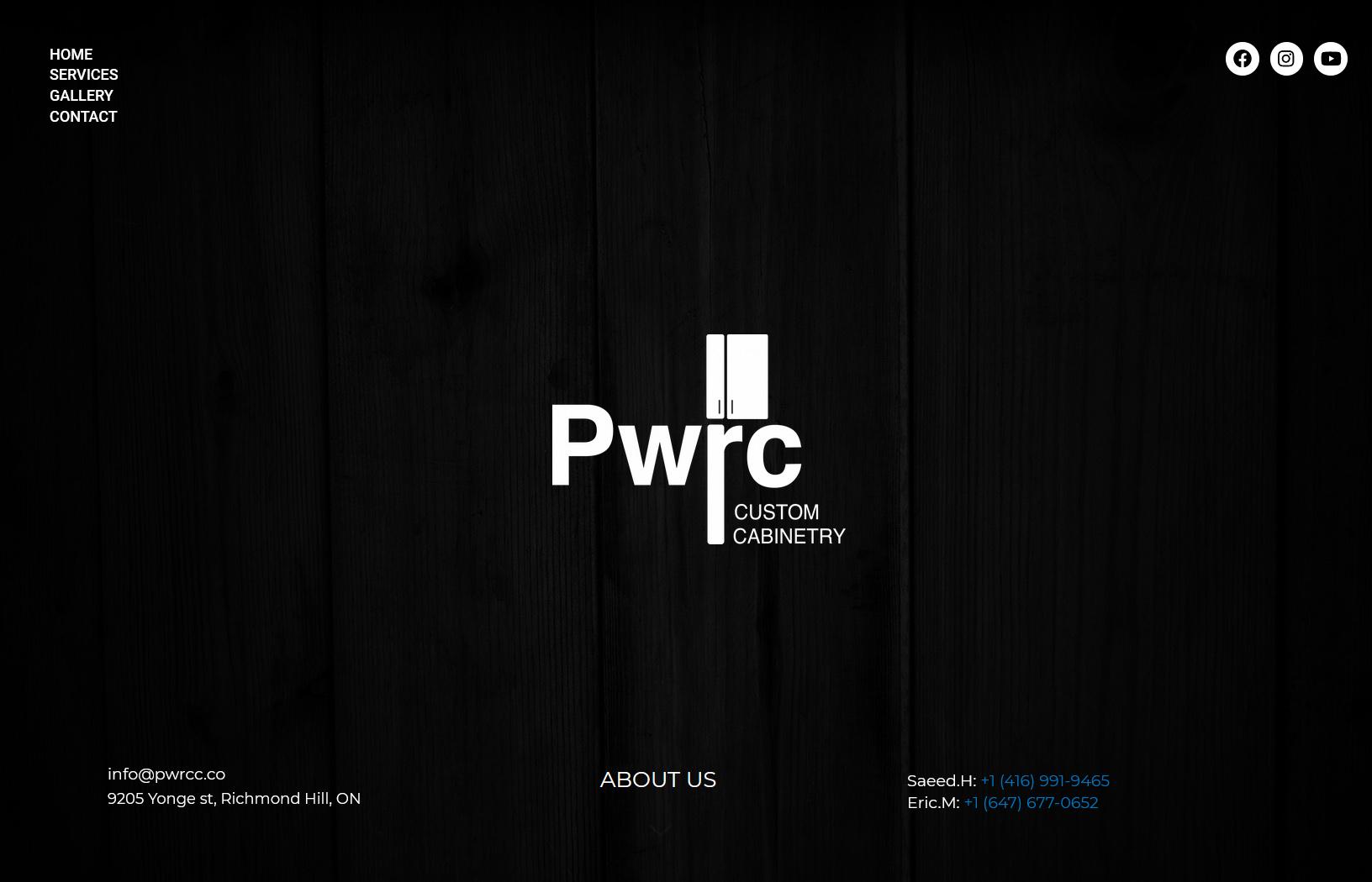 pwrc - طراحی سایت