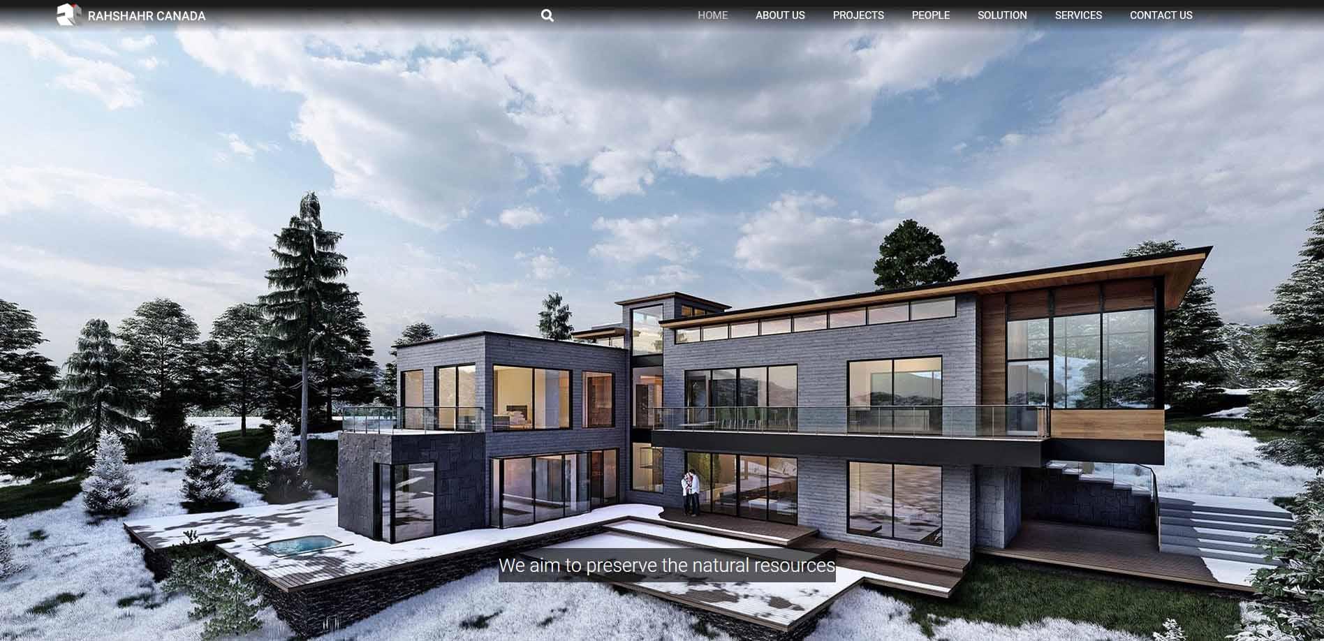 rahshahr - طراحی سایت